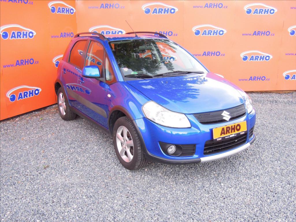 Suzuki SX4 - 1,6 i ÈR 2 MAJ. SERV. KN. 4x4, hatchback, Benzín