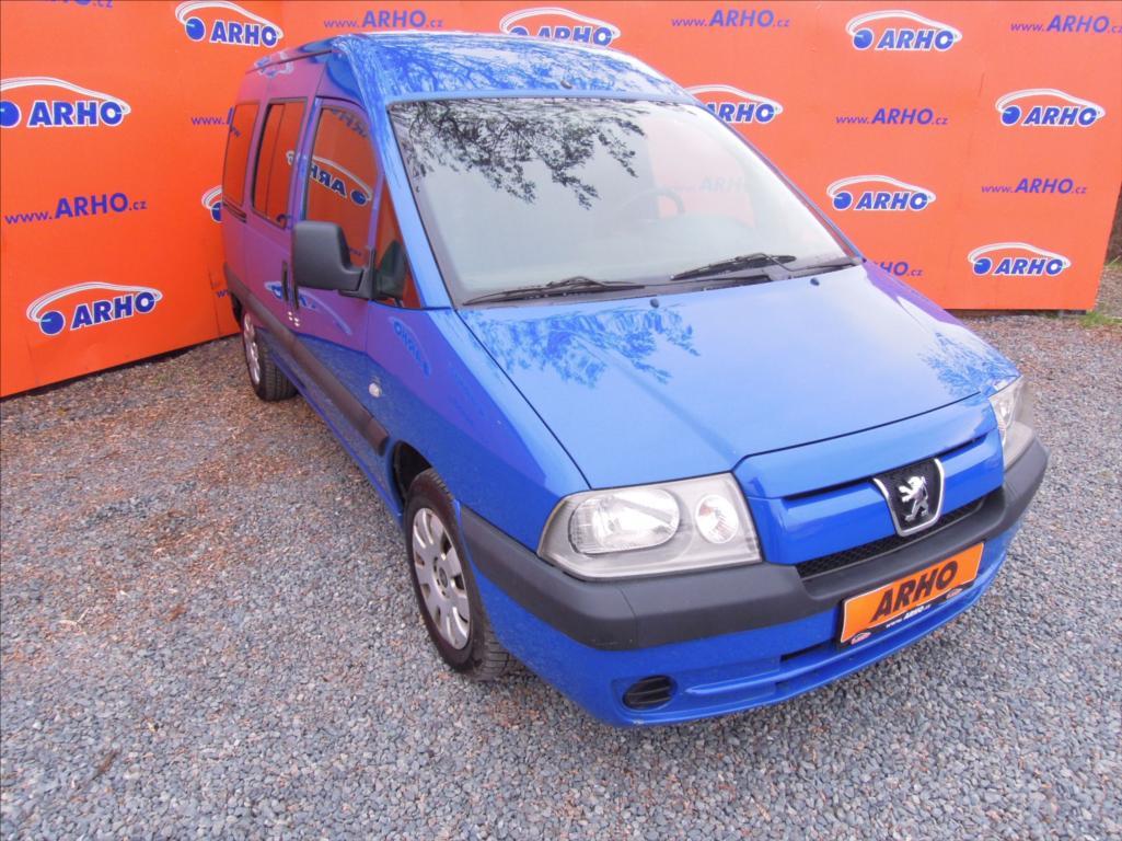 Peugeot Expert - 2,0 HDi 80kW KLIMATIZACE, kombi, Nafta