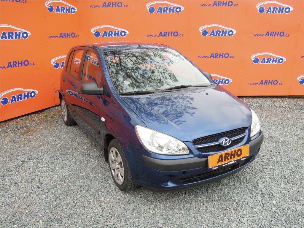 Hyundai Getz - 1,1 i ÈR 2 MAJITEL KLIMATIZACE, hatchback, Benzín