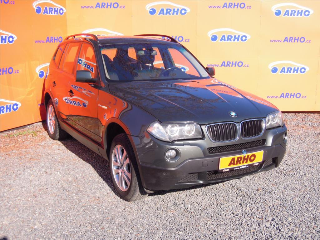 BMW X3 - 2,0 D 110kW ÈR AUT. KLIMA 4x4, SUV, Nafta