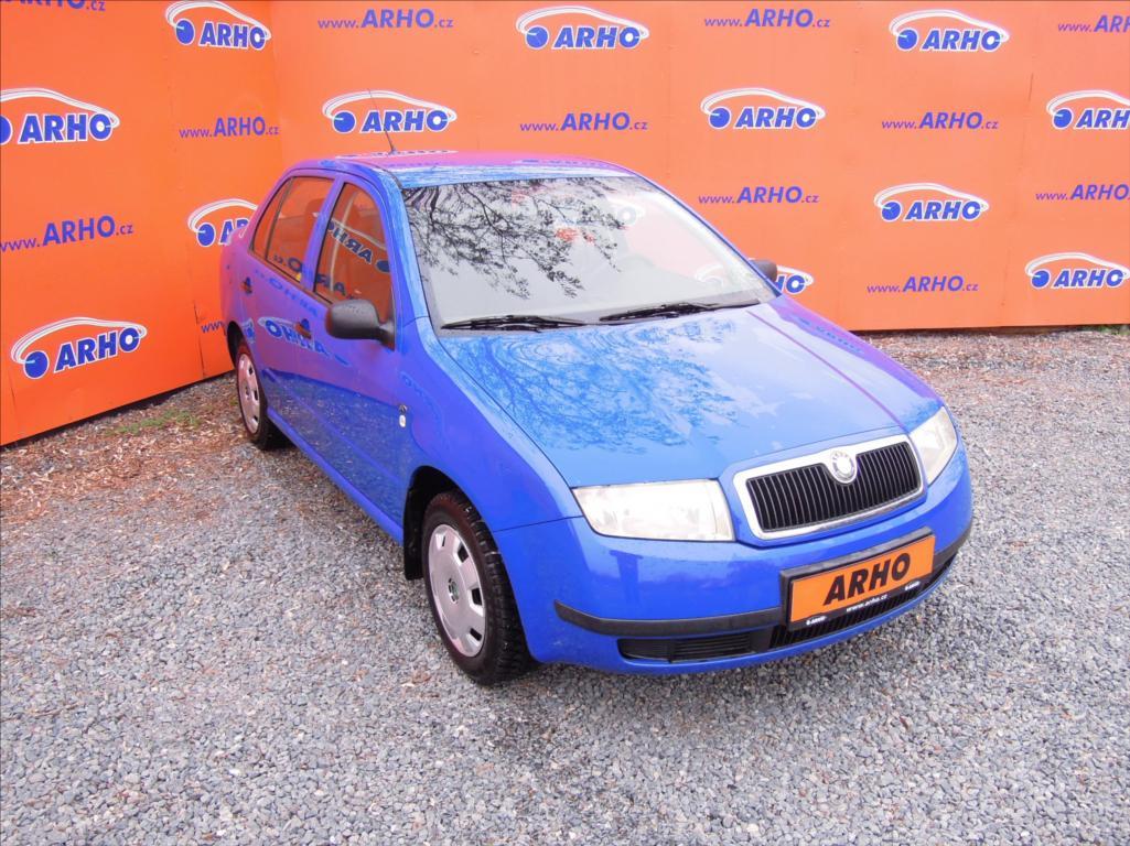 Škoda Fabia - 1,4 i 50kW ÈR 1 MAJITEL, sedan, Benzín - 0