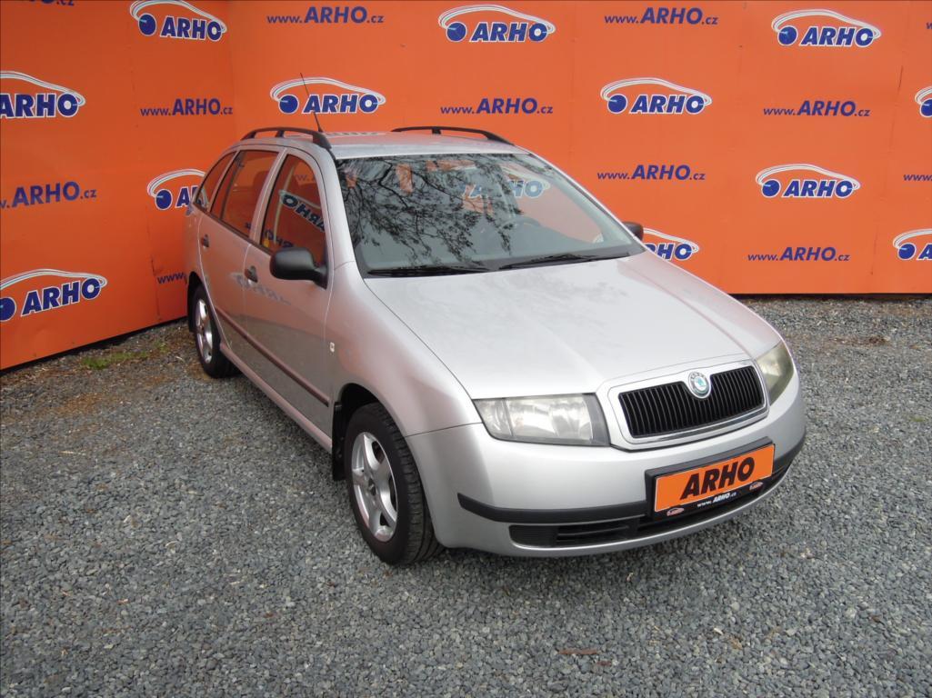 Škoda Fabia - 1,2 i 47kW ÈR SERV.KN. KLIMA, kombi, Benzín - 2