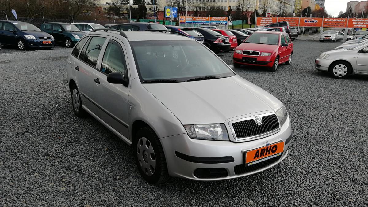 Škoda Fabia 1,2 i 47kW, ČR, 2 MAJITEL.