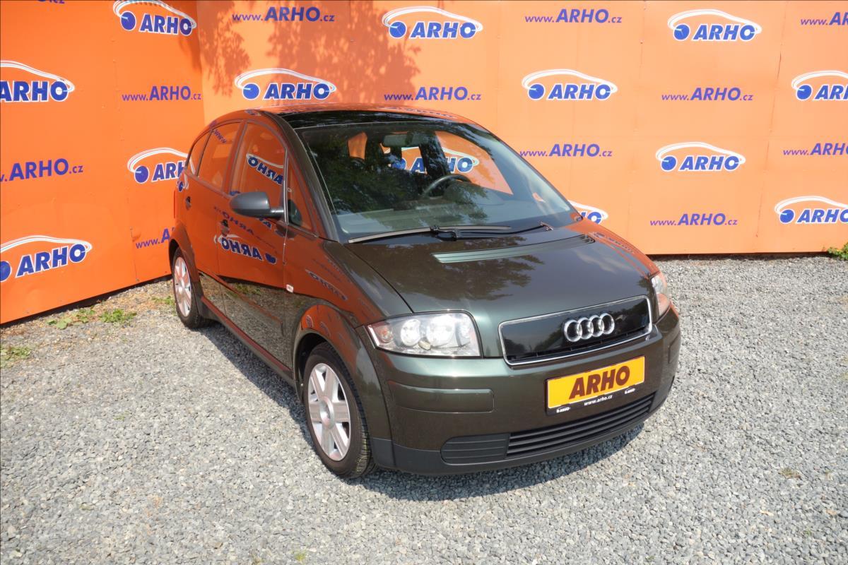 Audi A2 1,4 TDi 55kW, AUT. KLIMATIZACE