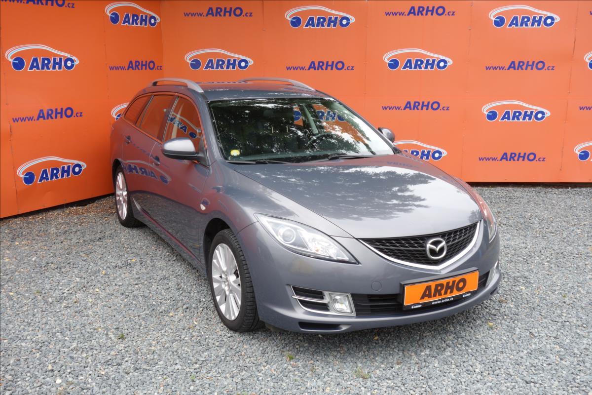 Mazda 6 1,8 i, ČR, 1 MAJ.,SERVISNÍ KN.
