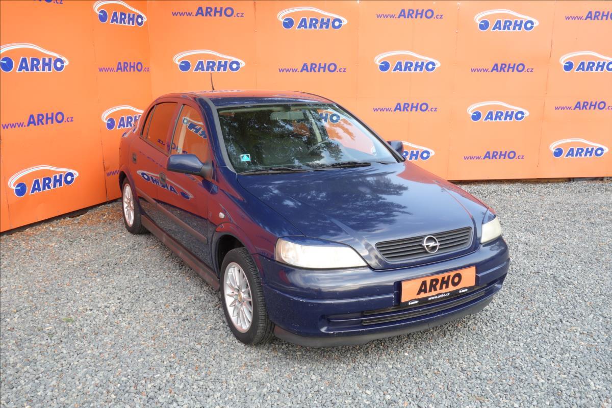Opel Astra 1,4 i 16V, KOUPENO NOVÉ V ČR.