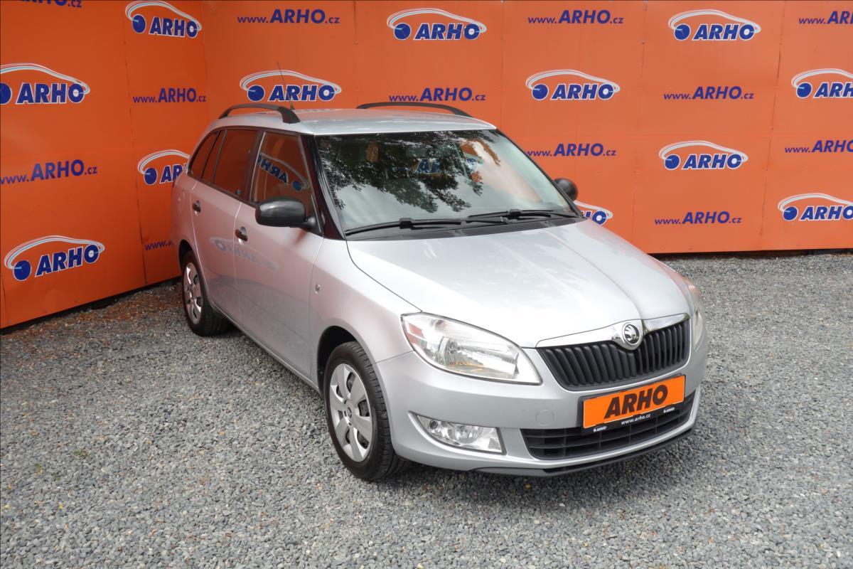 Škoda Fabia 1,2 i 51KW, ČR, 1 MAJ., KLIMA.