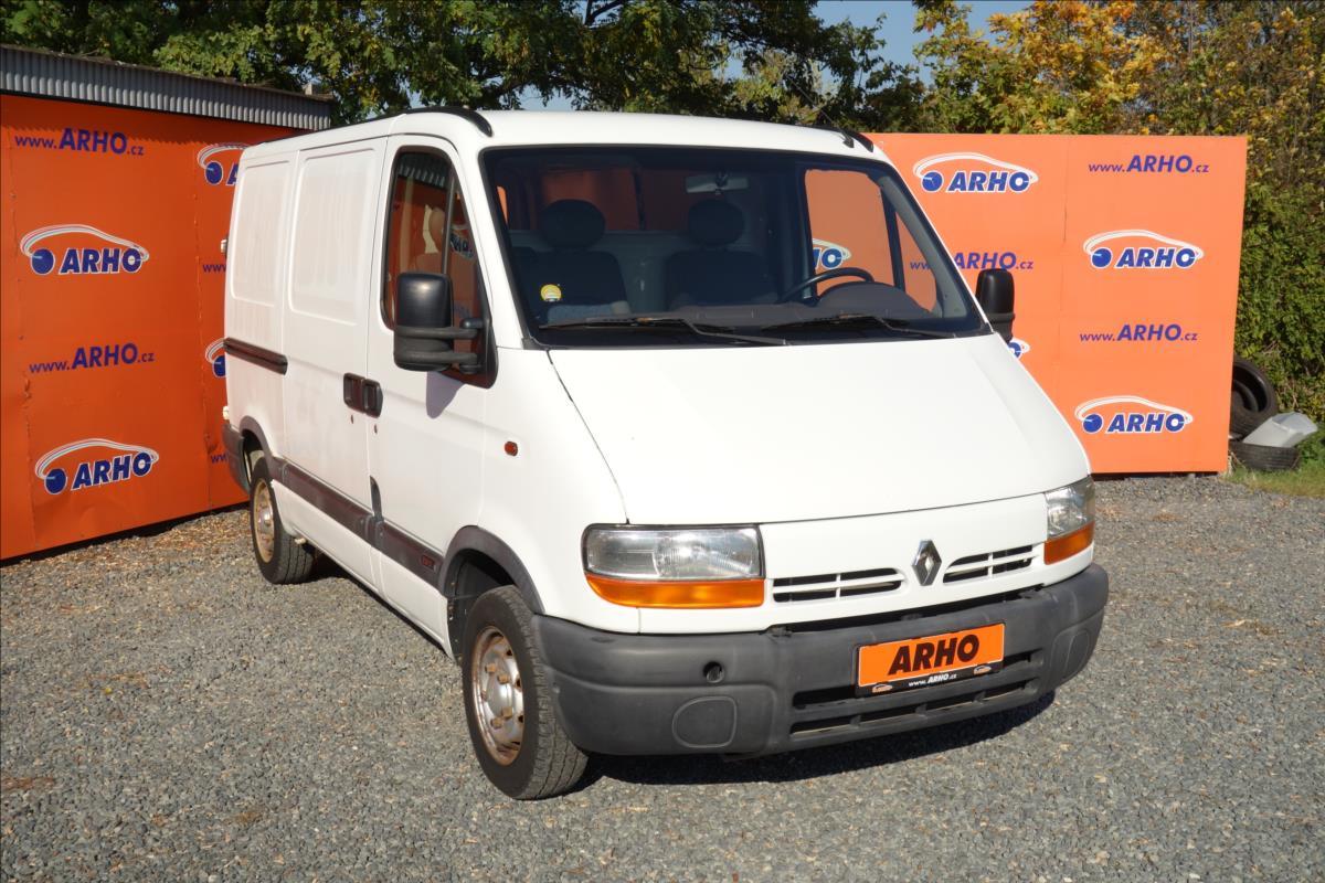 Renault Master 2,5 D 58 KW, ČR, 1 MAJITEL.