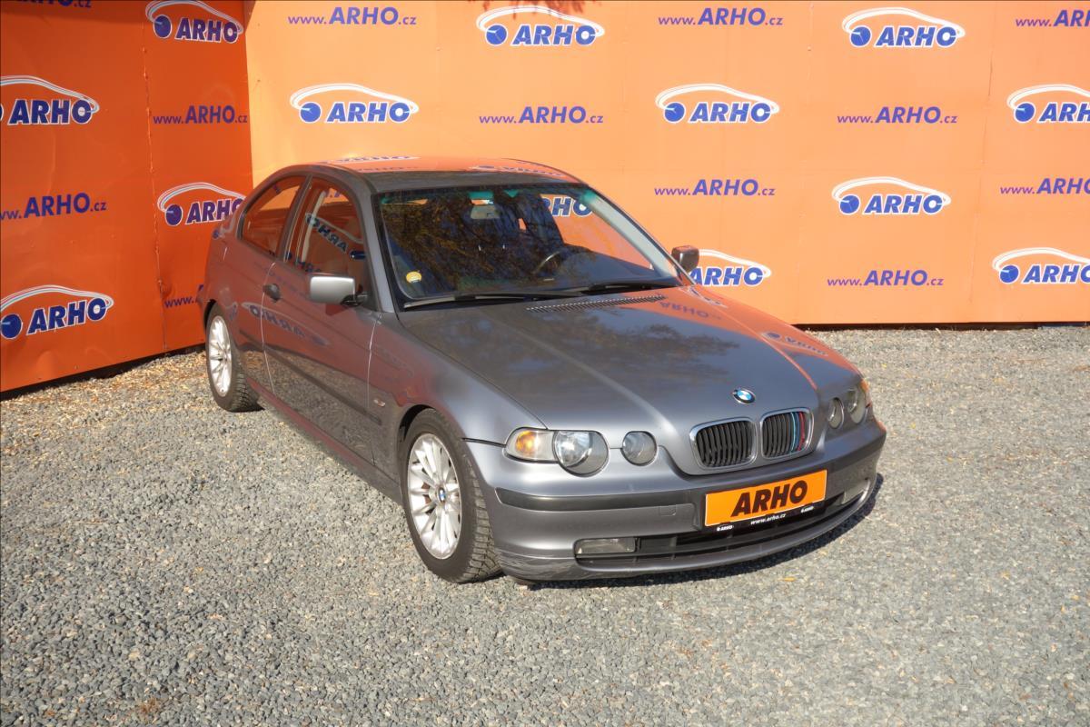 BMW Řada 3 2,0 318D 85KW, COMPACT, KLIMA.