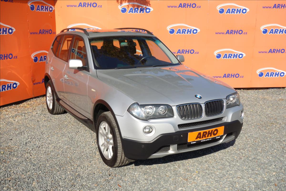 BMW X3 2,0 d 130KW,TOP STAV,PANORAMA.