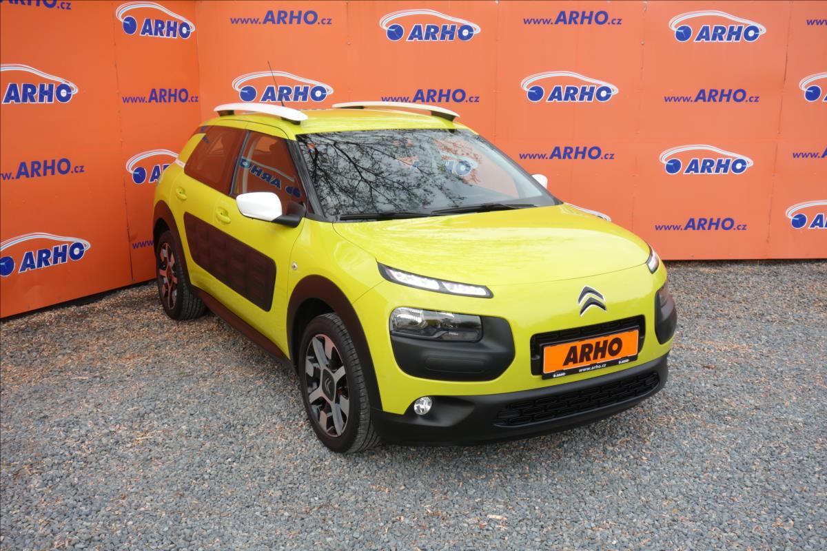 Citroën C4 Cactus 1,2 i,ČR,1 MAJ.,SERVISNÍ.KN.