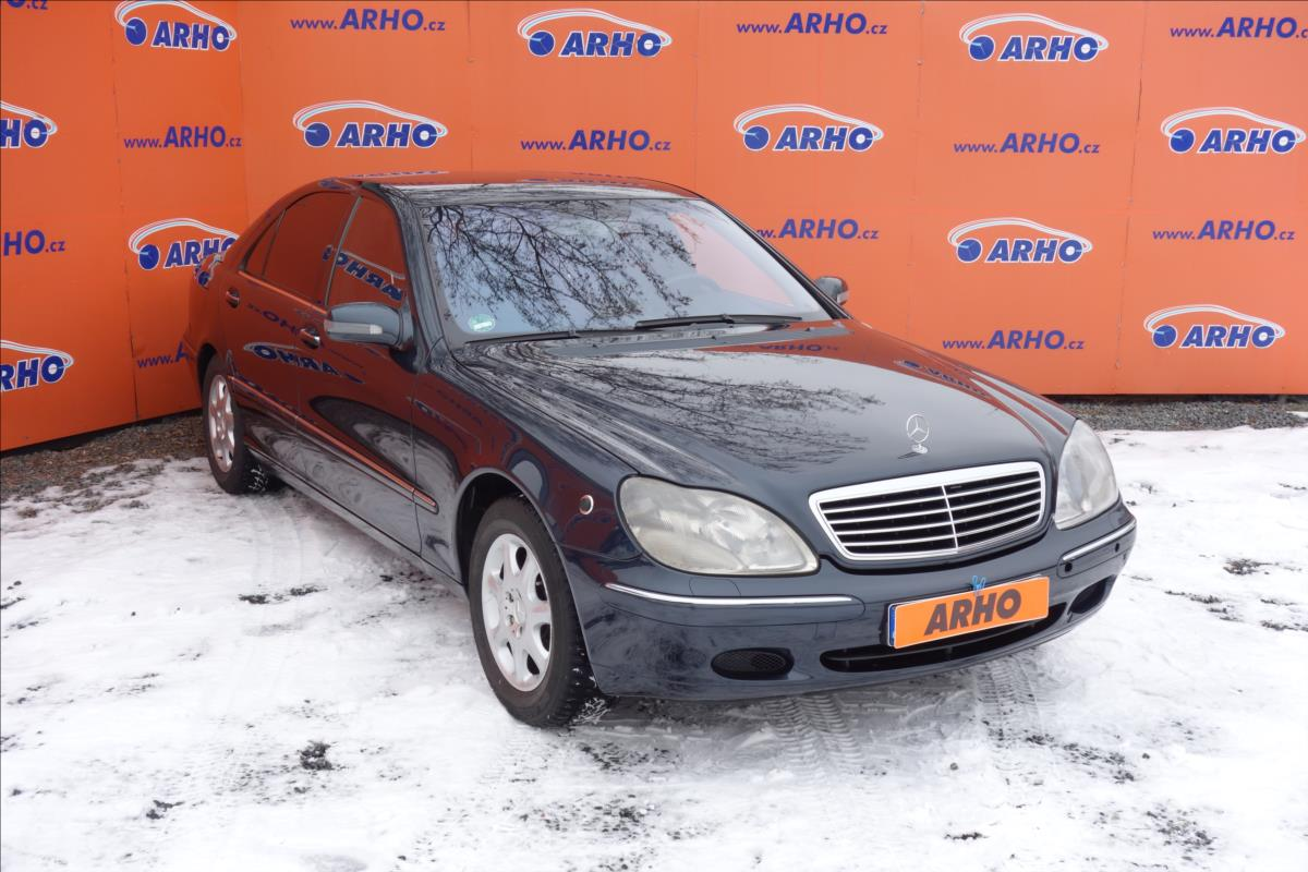 Mercedes-Benz Třídy S 430i 205 KW, ČR, LONG.