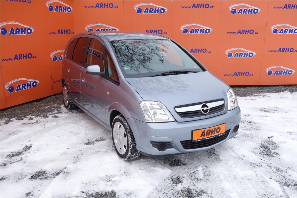 Opel Meriva 1,6 i 16V,ČR,1 MAJ.,AUTOMAT.