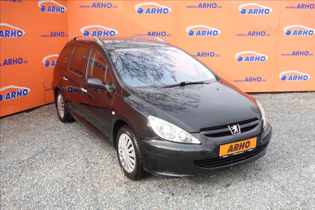 Peugeot 307 2,0 i 100KW,AUTOMAT,PANORAMA.