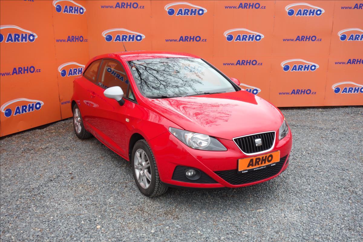Seat Ibiza 1,4 i 63KW,ČR,1 MAJ.SERV.KN.