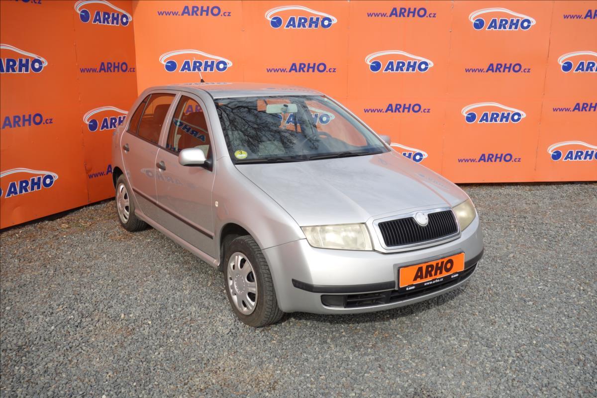 Škoda Fabia 1,9 TDi 74KW,KLIMATIZACE.