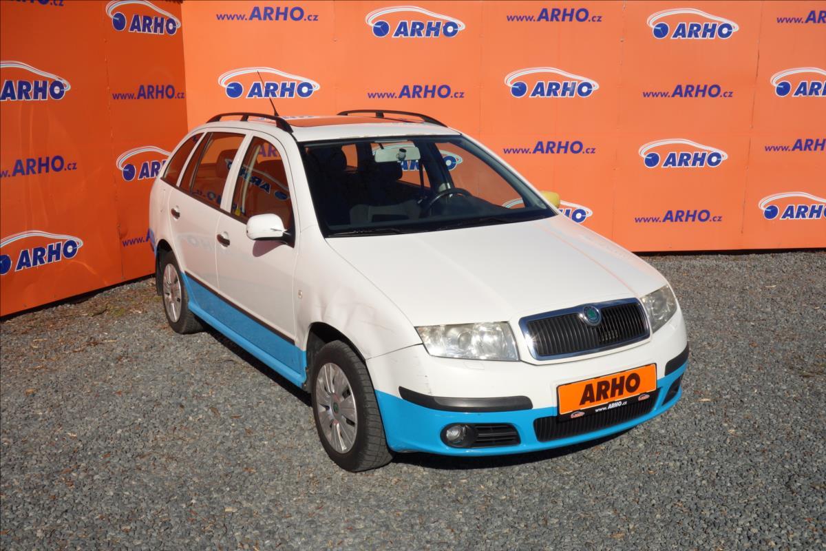 Škoda Fabia 1,9 TDi 74KW,ČR,2 MAJ,SERV.KN.