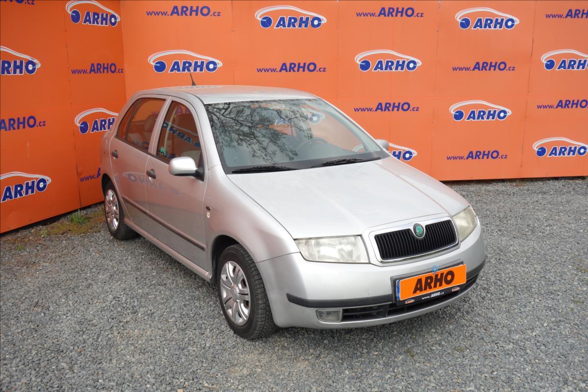 Škoda Fabia 1,4 i 16V 74KW, KLIMATIZACE.