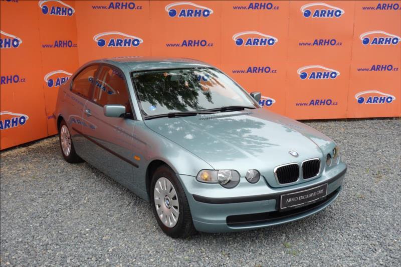 BMW Řada 3 316Ti,ČR,1 MAJ.,77 TIS.KM.