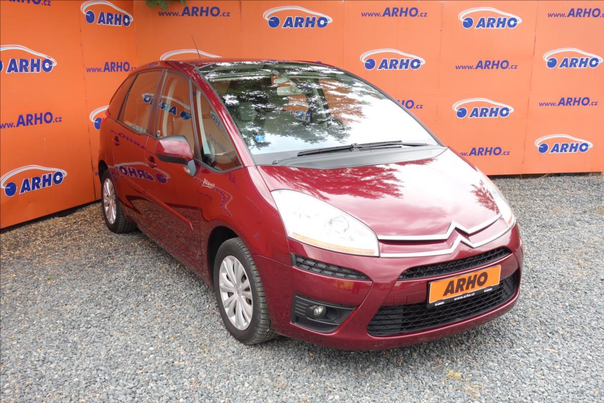 Citroën C4 Picasso 1,6 HDi,ČR,2 MAJ.,SERVISNÍ KN.