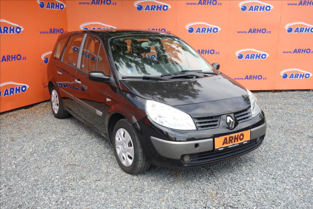 Renault Grand Scénic 1,5 DCi 78KW,7 MÍST,PANORAMA.