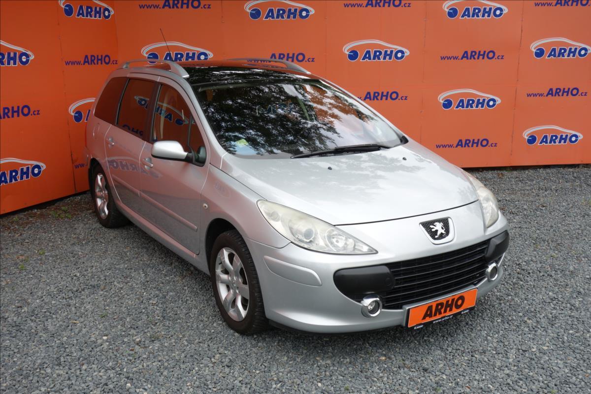 Peugeot 307 1,6 i 16V,ČR,PANORAMA,AUT.AC.