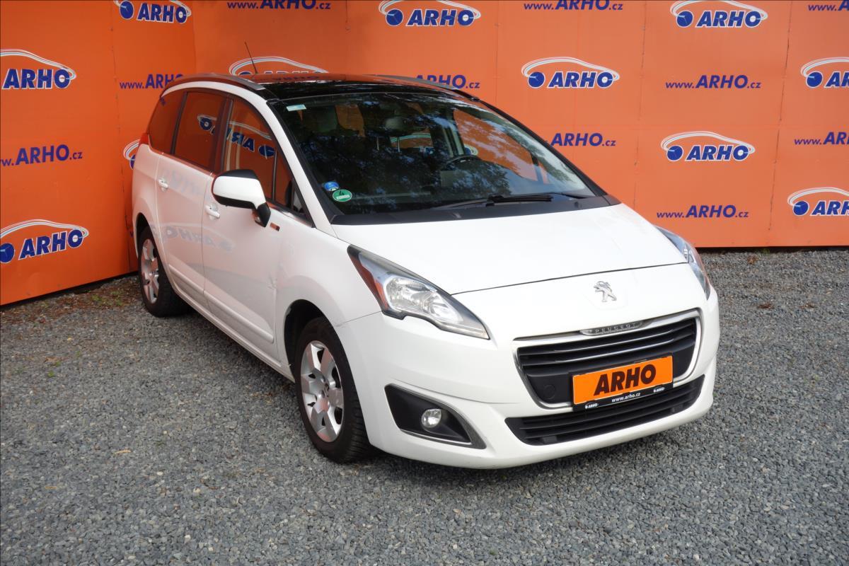 Peugeot 5008 2,0 HDi,ČR,2 MAJITEL,SERV.KN.