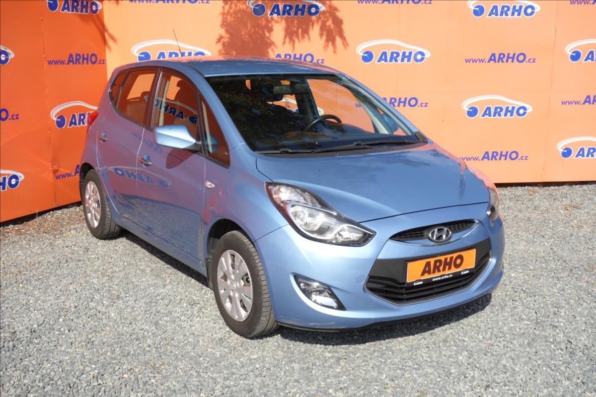 Hyundai ix20 1,4 i CVVT 66KW, ČR, TRIKOLOR.