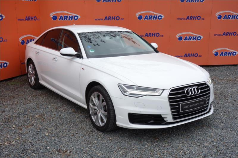 Audi A6 3,0 TDi,ČR,1 MAJ.,S-LINE.DPH.