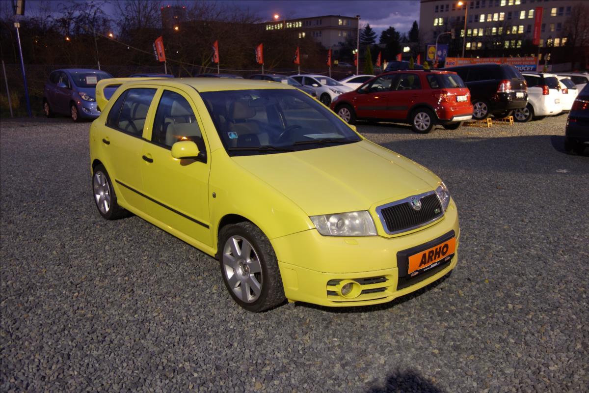 Škoda Fabia 1,9 TDi 96KW,RS, XENONY.
