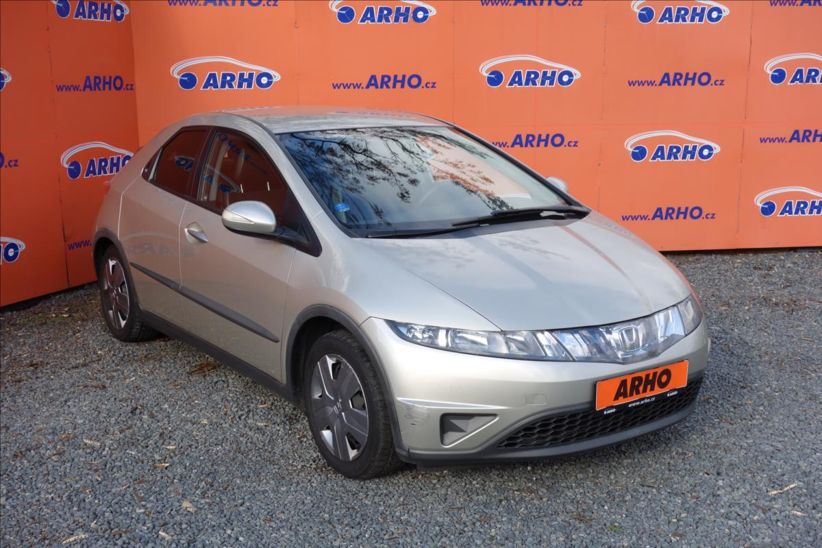Honda Civic 1,4 i, ČR, 2 MAJ., SERVIS.KN.