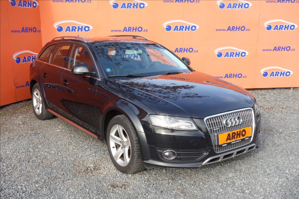Audi A4 Allroad 2,0 TDi 125KW, QUATTRO, KŮŽE.