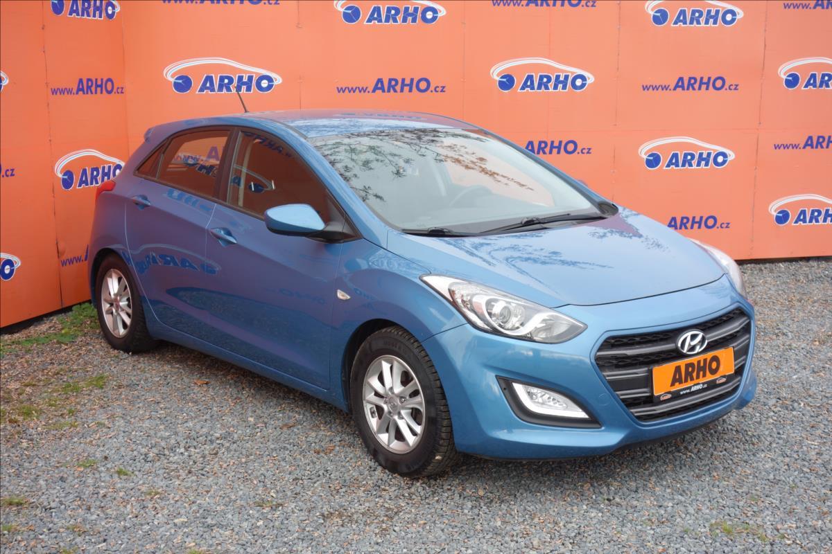 Hyundai i30 1,4 i, ČR, 1 MAJ., TRIKOLOR.