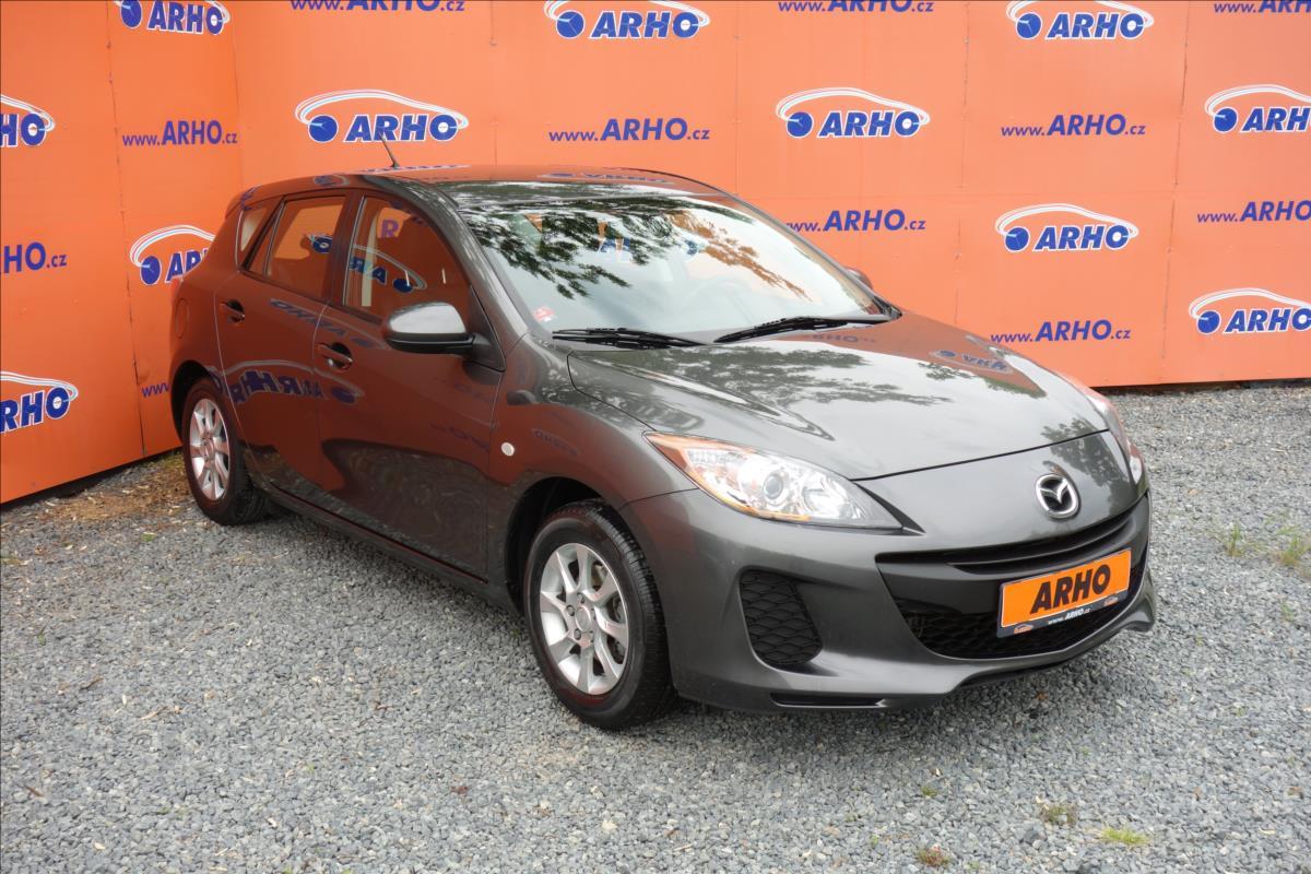Mazda 3 1,6 i,ČR,1 MAJ.,SERVISNÍ KN.