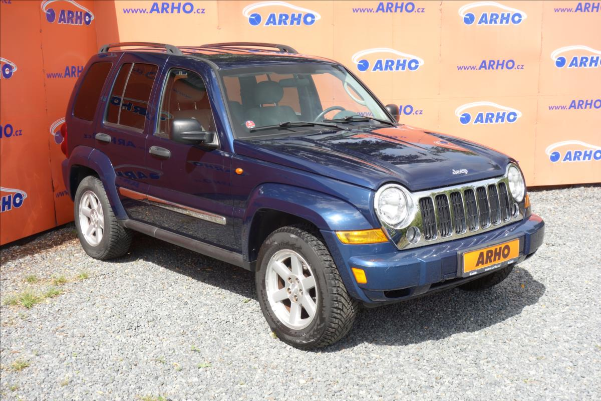 Jeep Cherokee 2,8 CRD 120KW, LIMITED, 4x4.