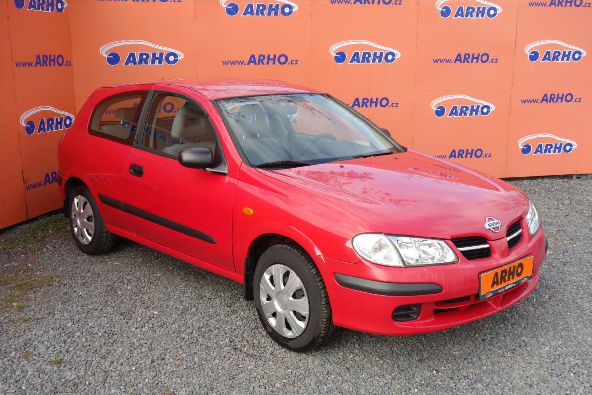 Nissan Almera 1,5 i, ČR, 2 MAJ., COMFORT.