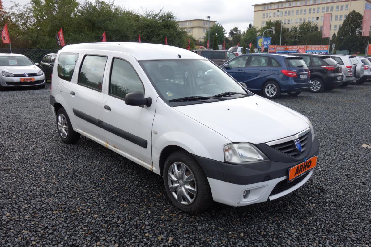 Dacia Logan 1,5 DCi 50KW, ČR, 2 MAJITEL.