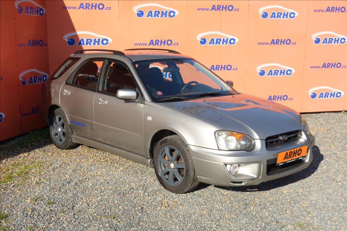 Subaru Impreza 2,0 i GX 92KW, 4WD, KLIMA.