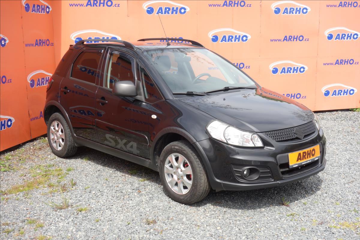 Suzuki SX4 1,6 i, ČR, 2 MAJ., SERVIS. KN.