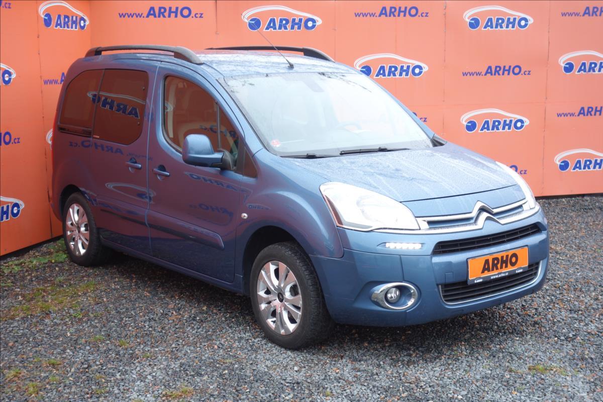 Citroën Berlingo 1,6 HDi,ČR, 1 MAJ., EXCLUSIVE.