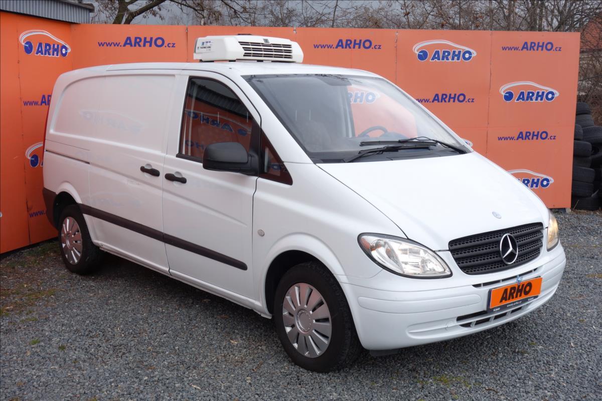 Mercedes-Benz Vito 2,2 CDi, ČR, 1 MAJ., CHLAĎÁK.