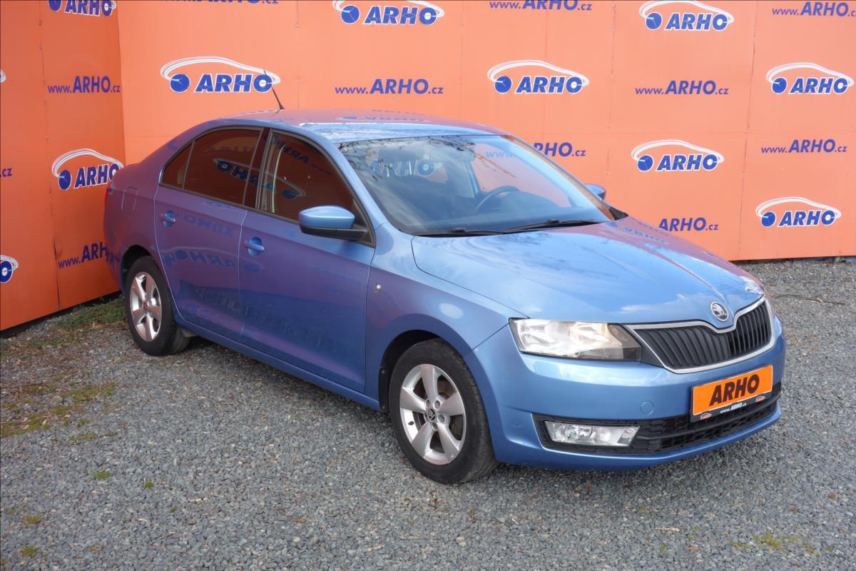 Škoda Rapid 1,2 TSi, ČR, 1 MAJ., AMBITION.
