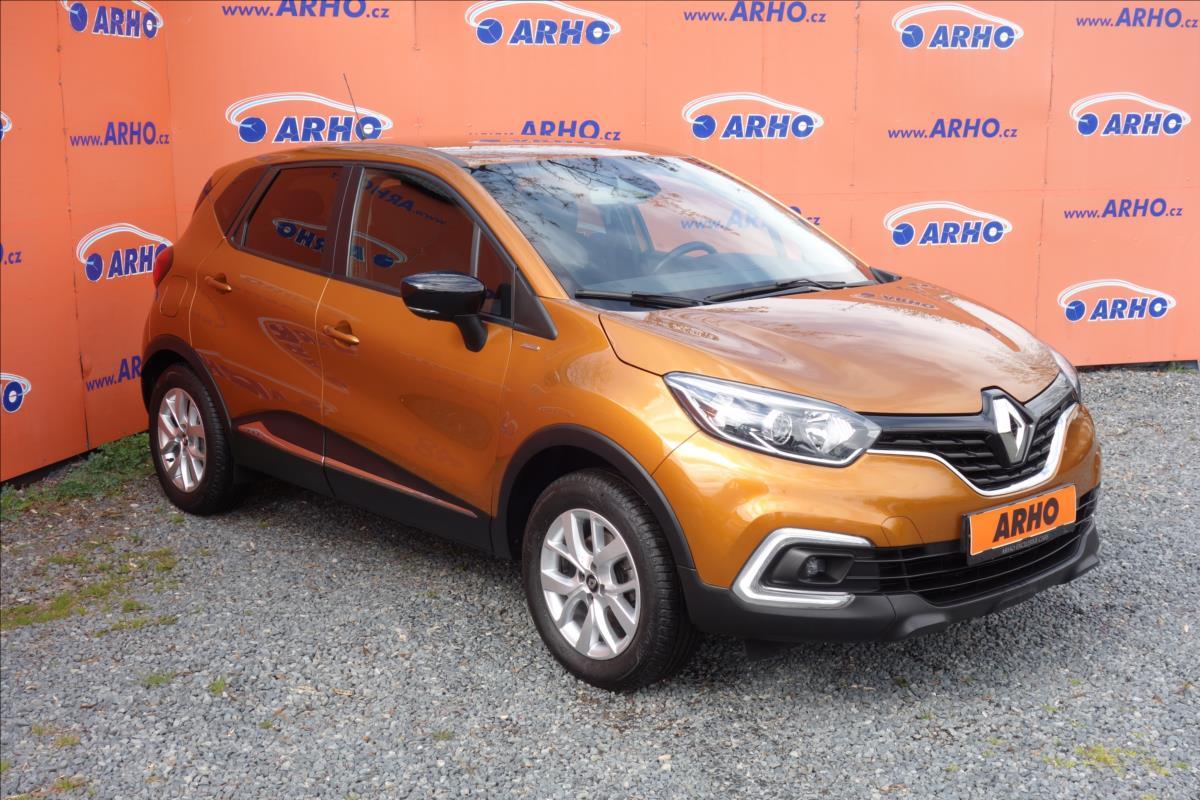 Renault Captur 1,3 TCe 110KW,ČR,1 MAJ,LIMITED