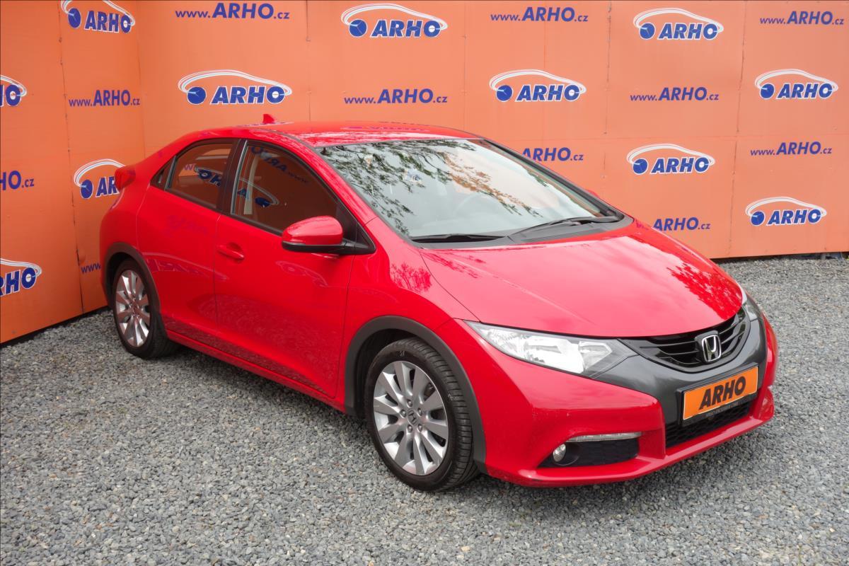 Honda Civic 1,8 i 103KW,ČR,1 MAJ.,SERV.KN.