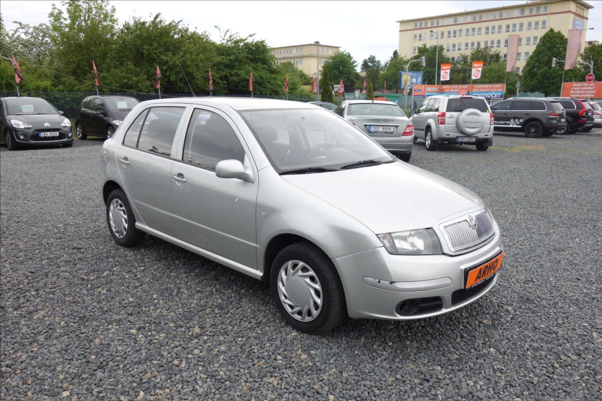 Škoda Fabia 1,2 i, KLIMATIZACE, CLASSIC.
