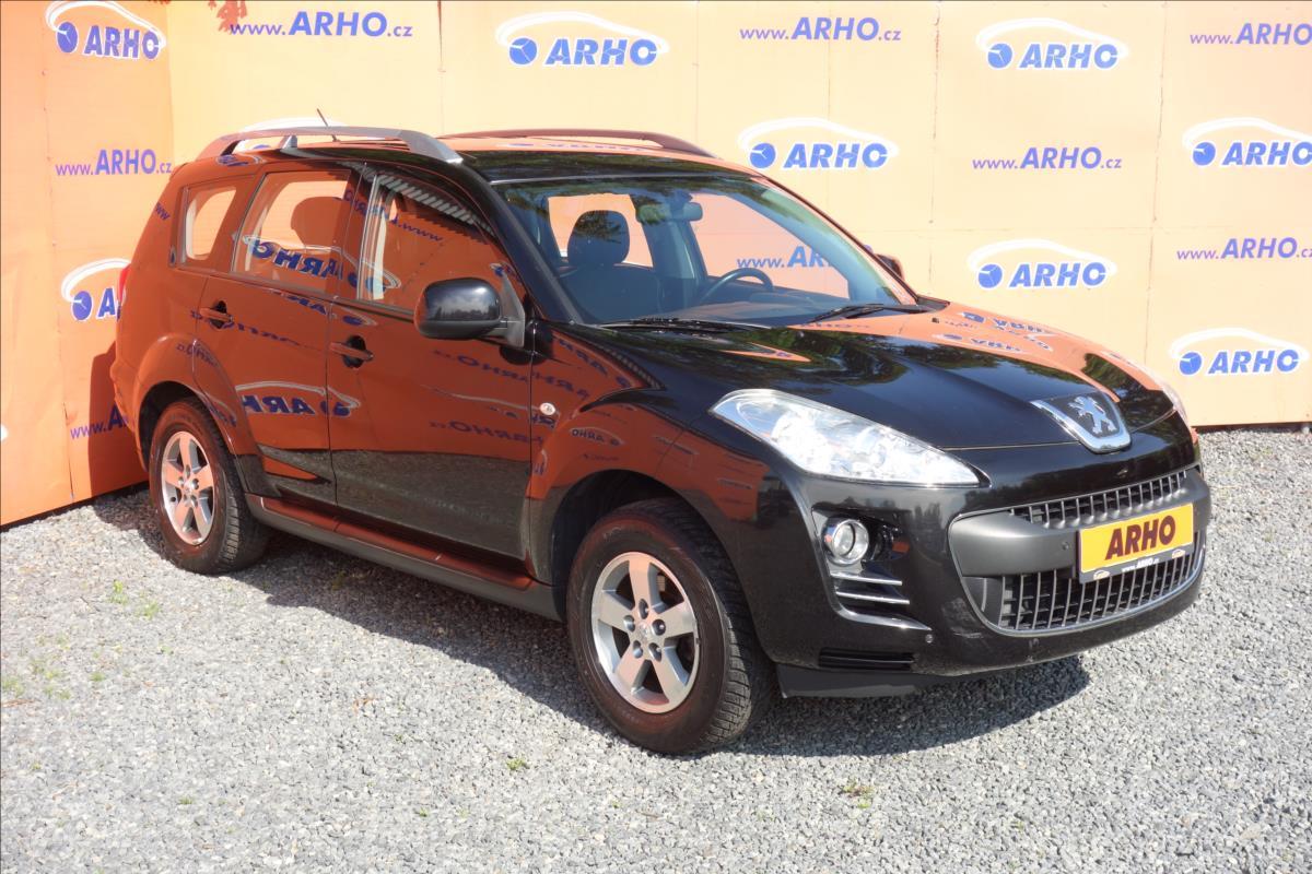Peugeot 4007 2,2 HDi 115KW, 4x4, AUT.KLIMA.