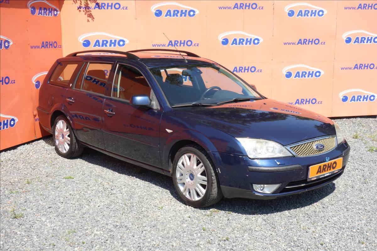 Ford Mondeo 2,0 TDCi 96KW,ČR,2 MAJ.,GHIA.