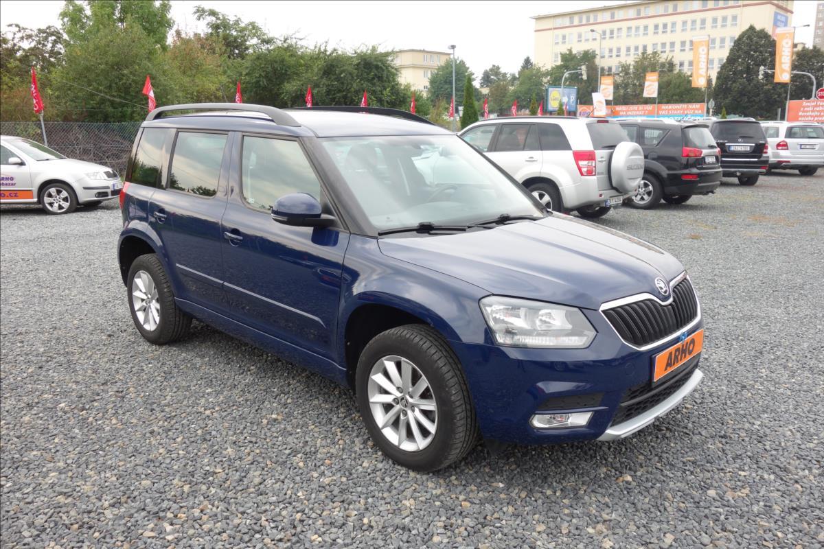 Škoda Yeti 2,0 TDi 81KW,ČR,AMBITION,4x4.